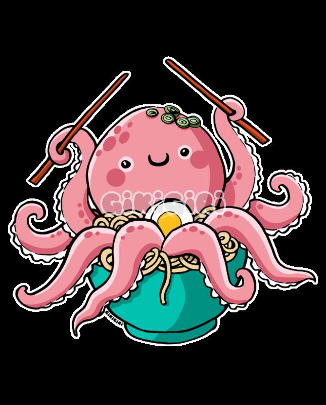 Tako Udon Octopus noodles